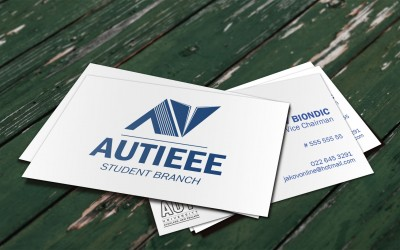 AUT IEEE Business Cards