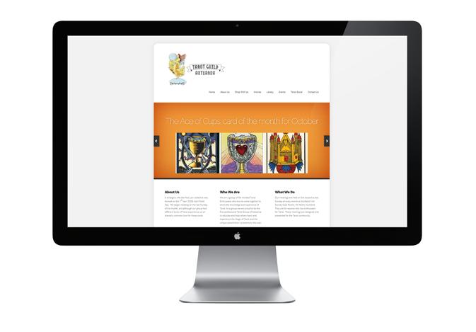 Tarot Guild Aotearoa (Web Design)
